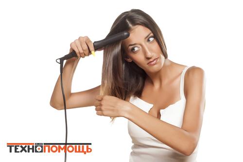 Укладка волос стайлером
