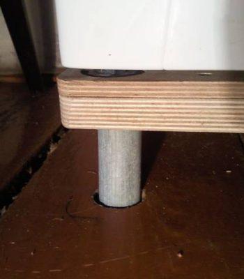 Правила установки стиральной машины на деревянный пол