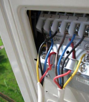 Как правильно подключить кондиционер к электричеству своими руками