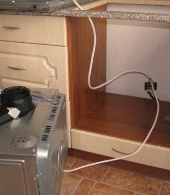 Установка газовой плиты и духового шкафа самостоятельно