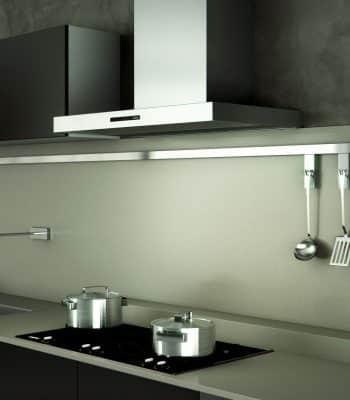 Как правильно выбрать вытяжку для газовой плиты: конструкция, особенности установки