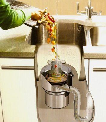 Диспоузер для пищевых отходов на кухню