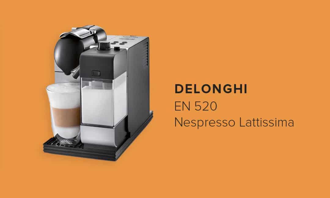 Капсульная кофемашина Delonghi EN520 Nespresso Lattissima