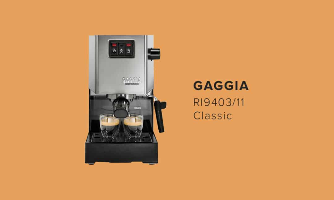 Gaggia Classic RI9403 рожковая кофемашина