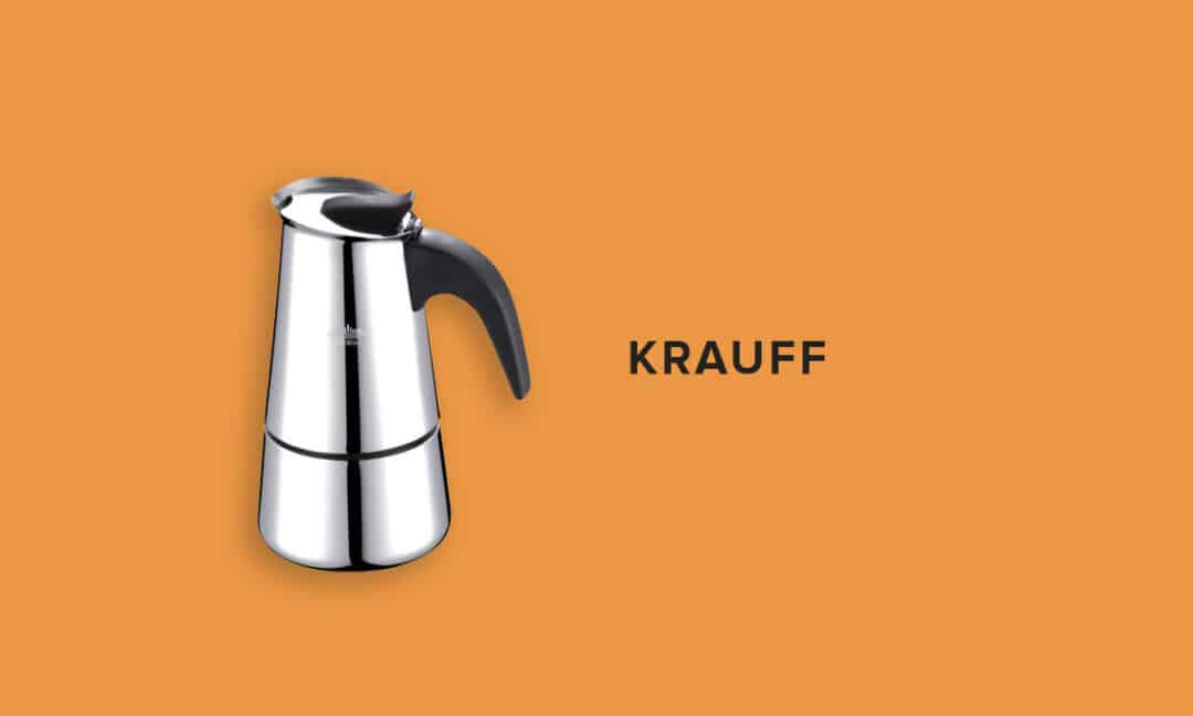 Кофеварка из нержавейки Krauff
