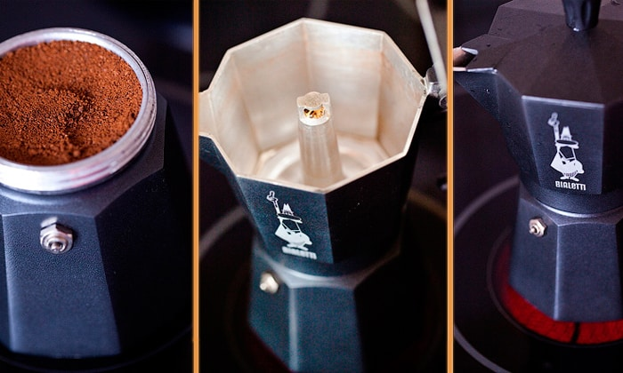 Кофеварка в разборе