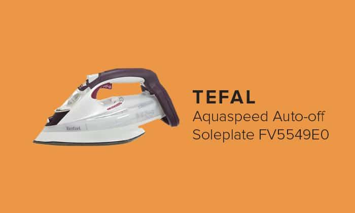 TEFAL Aquaspeed Auto-off Soleplate FV5549E0