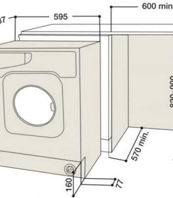 На что влияет размер стиральной машины