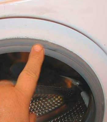 Как снять резинку с барабана стиральной машины