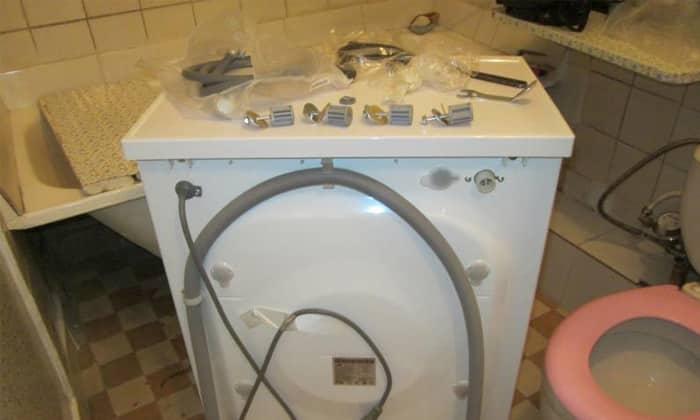 Подготовка к утсановке стиральной машины