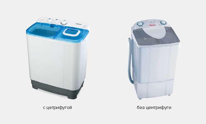 виды полуавтоматических стиральных машин
