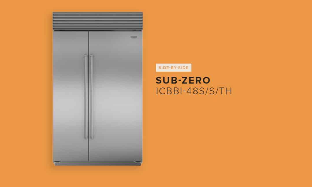 SUB-ZERO ICBBI-48S/S/TH