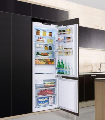 Как встроить холодильник в шкаф или кухонный гарнитур своими руками