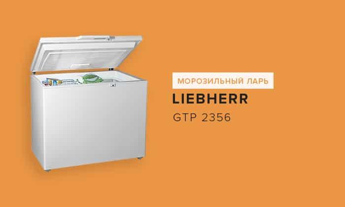 Liebherr GTP 2356