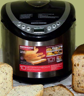 Обзор популярных моделей хлебопечек Redmond