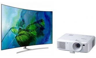 Что лучше выбрать — проектор или телевизор