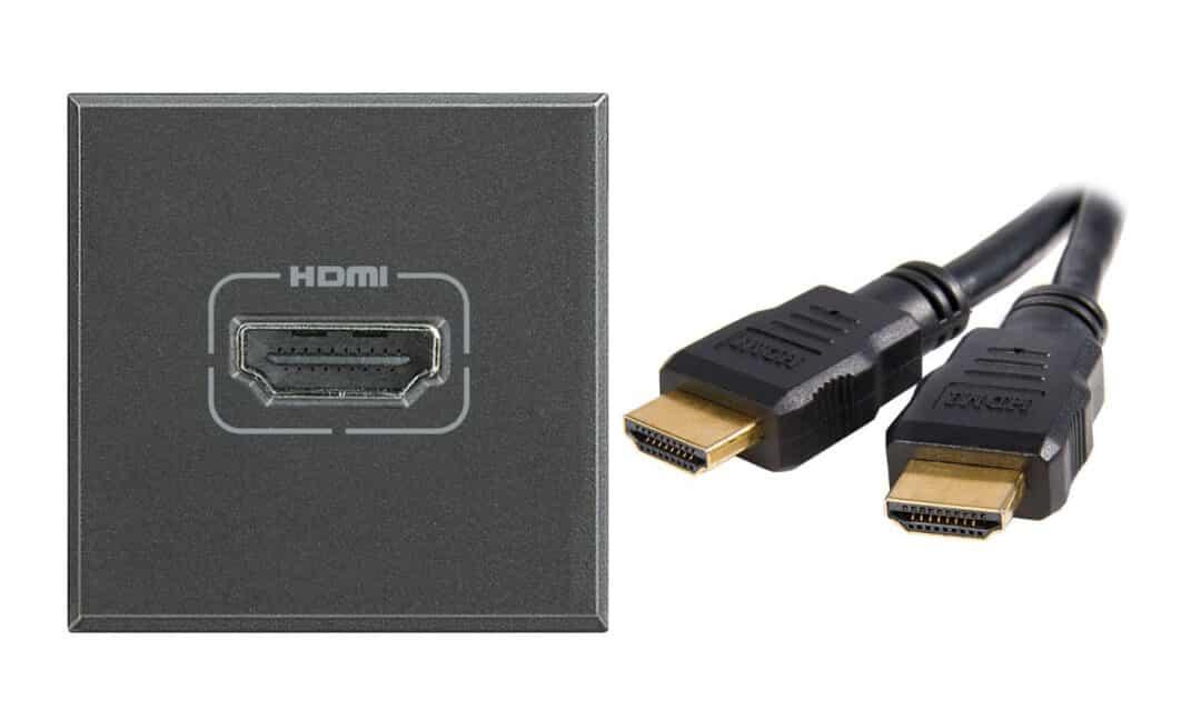 HDMI разъем и штекер