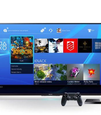 Как играть в Sony Playstation 4 на телевизоре