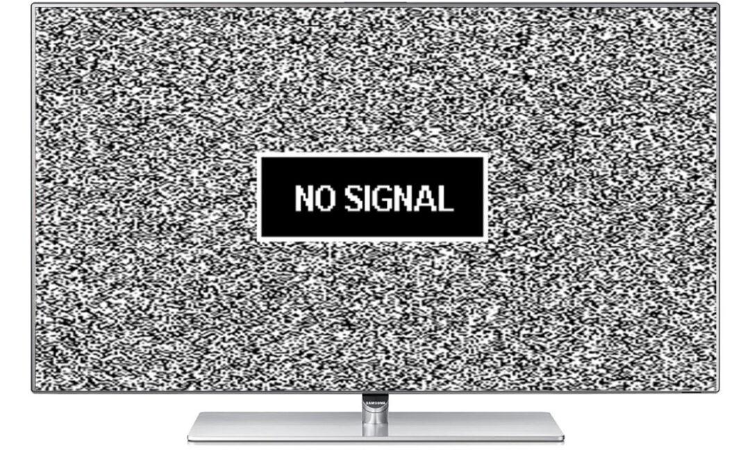 Нет сигнала на телевизоре