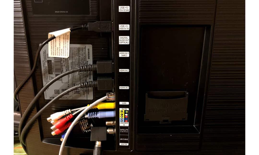 Проверка проводов в телевизоре на целостность