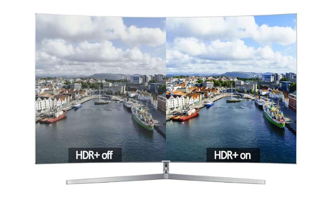 Сравнение изображения с HDR и без