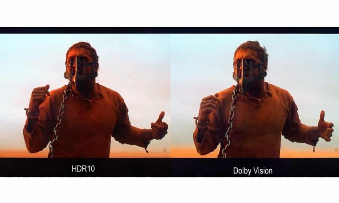 Сравнение изображения с HDR10 и Dolby Vision