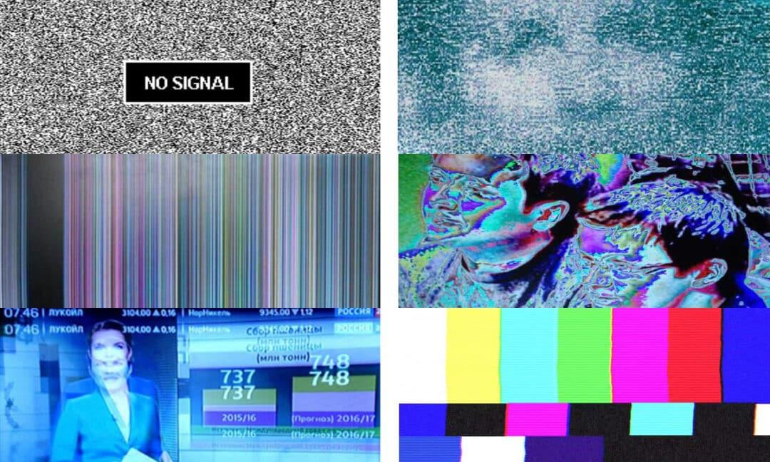 Виды помех на экране телевизора