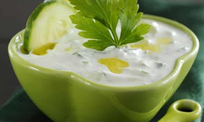 Йогурт греческий для овощей