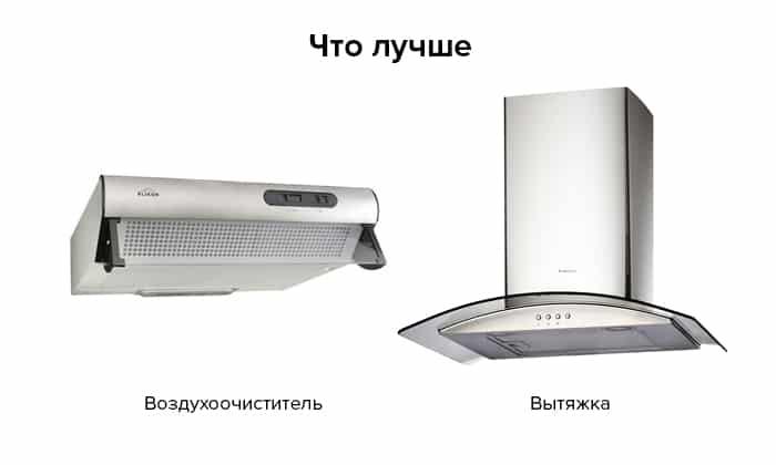 Вытяжка vs воздухоочиститель