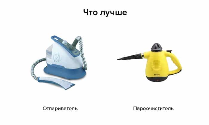 Отпариватель проитв пароочистителя