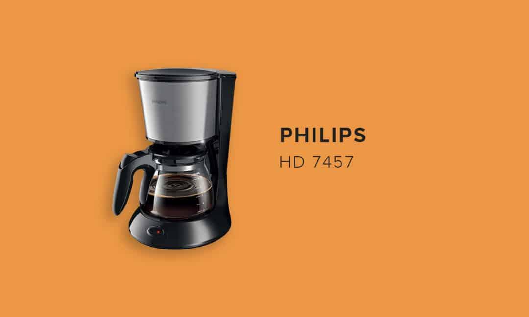 Капельная модель кофемашины Philips HD7457