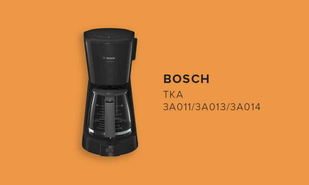 Недорогая капельная кофемашина Bosch TKA 3A011/3A013/3A014