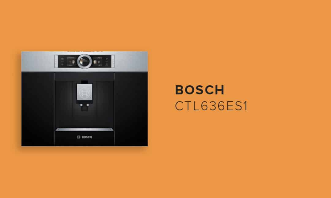 Кофеварка помпового типа Bosch CTL636ES1
