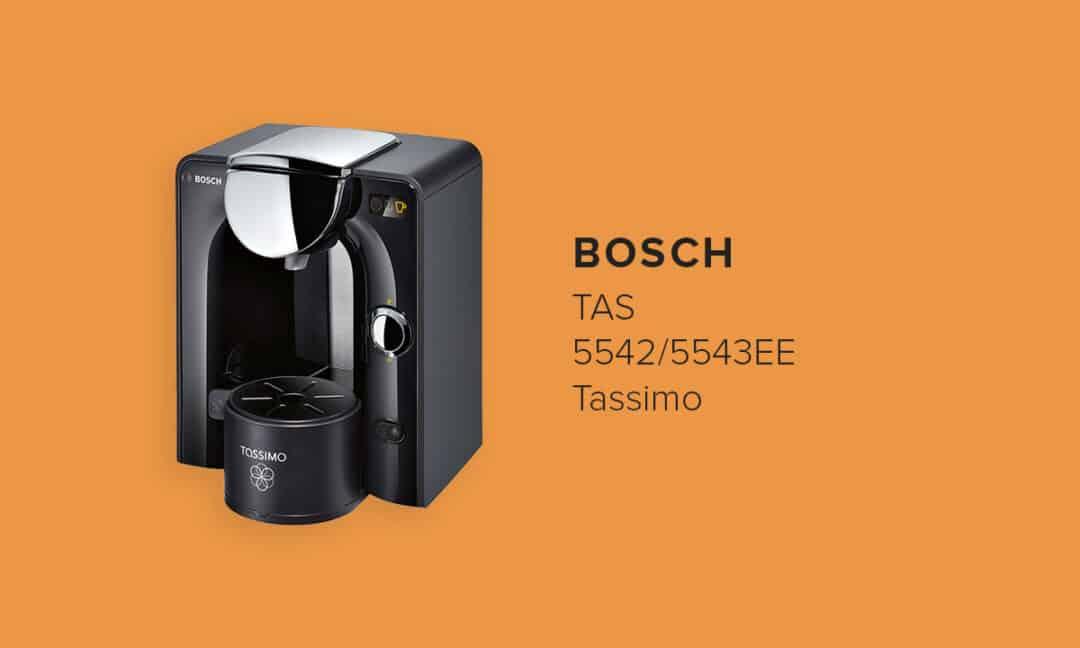Одна из лучших капсульных кофемашин Bosch TAS 5542/5543EE Tassimo