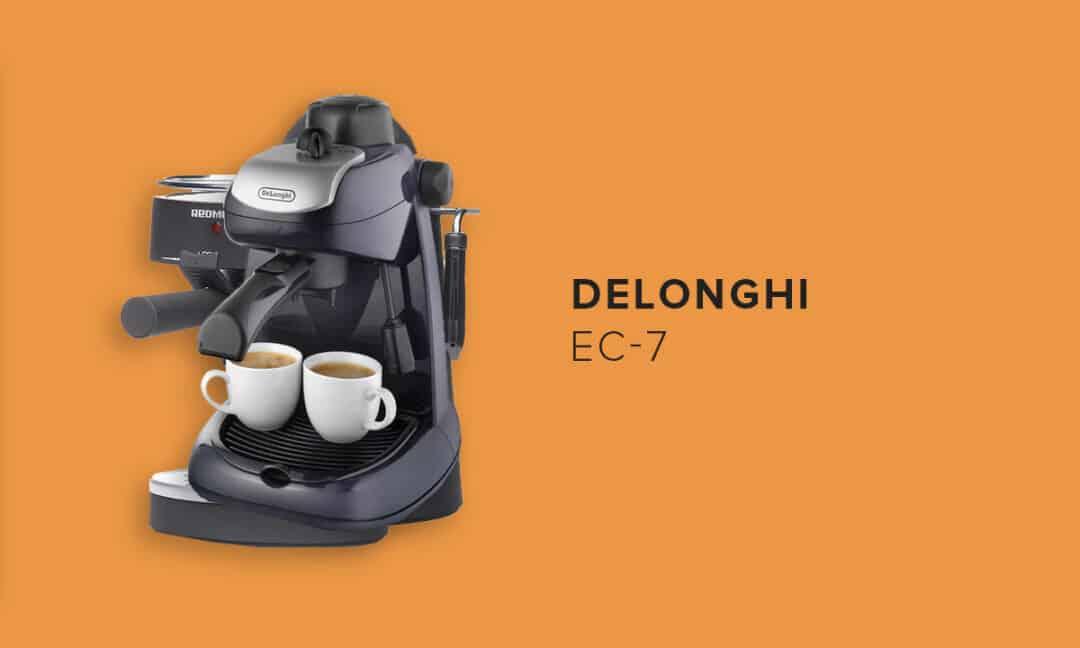 DeLonghi EC7 кофеварка рожкового типа