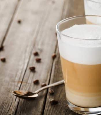 Как сделать латте в кофемашине