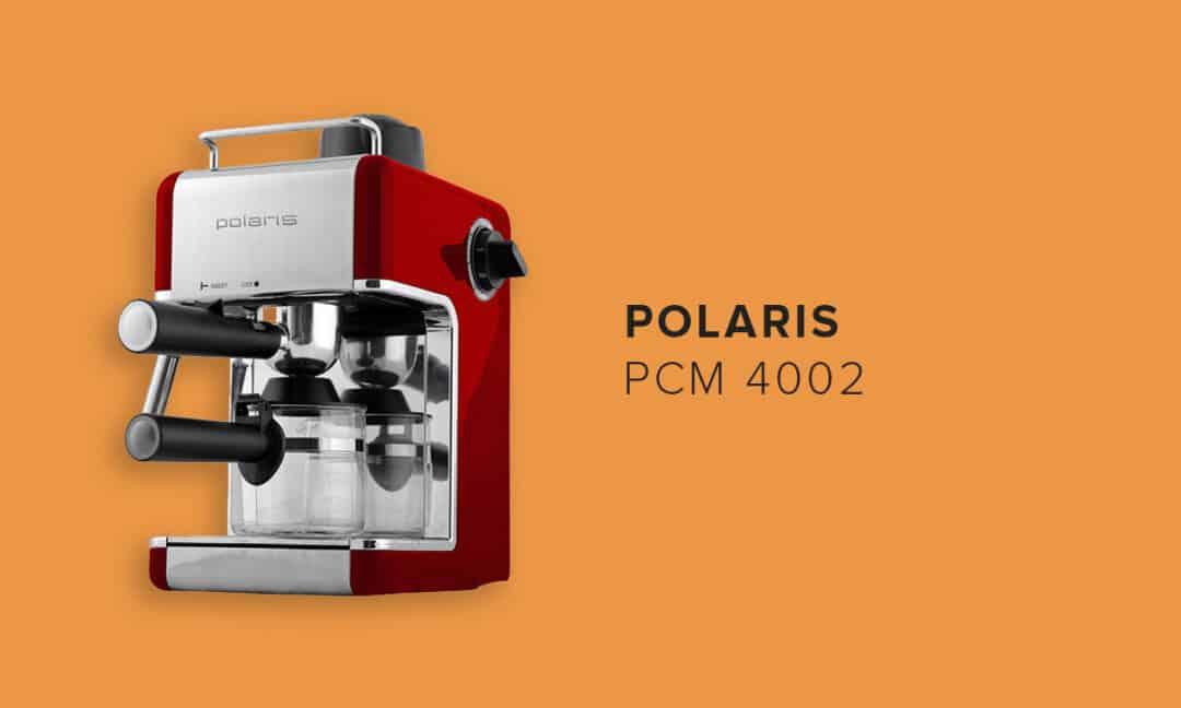Модель кофеварки Polaris PCM 4002