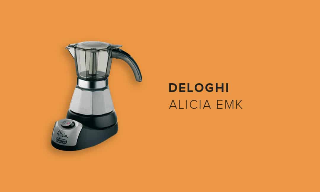 Небольшая электрическая кофеварка гейзерного типа Alicia EMK