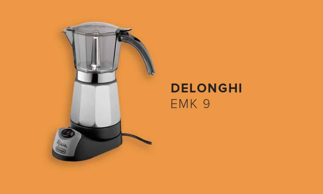 Кофеварка гейзерного типа DeLonghi EMK 9