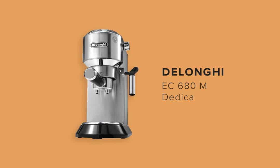 Рожковая кофеварка Delonghi Dedica EC680M
