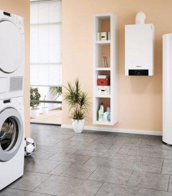 Как выставить сушильную и стиральную машину в колонну