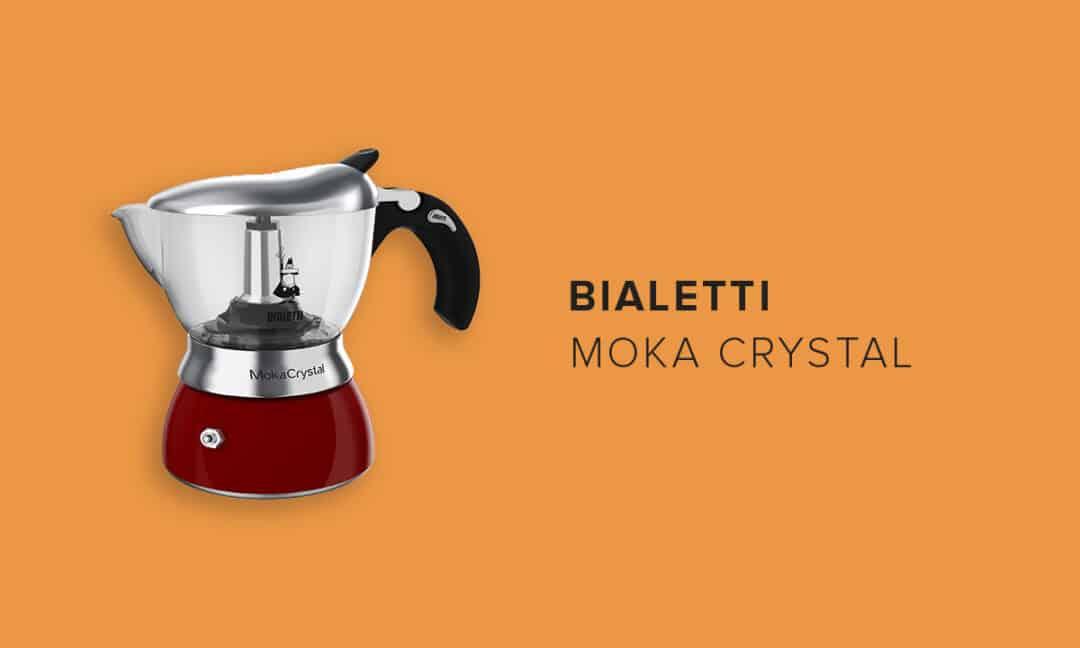 Кофеварка Moka Crystall