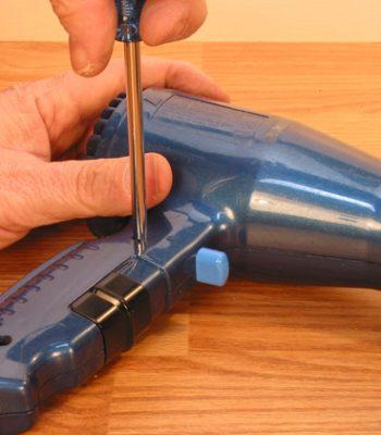 Как самостоятельно сделать ремонт фена для волос