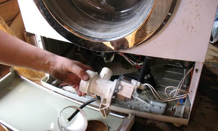 Замена сливного насоса стиральной машины