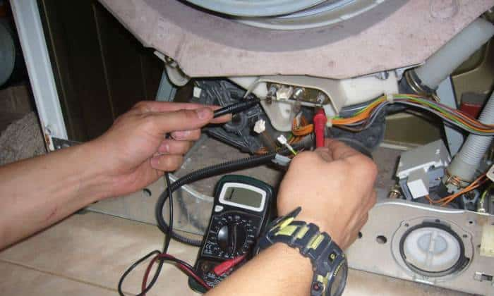 Тэн и лвигатель стиральной машины