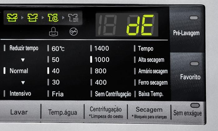 Что означает ошибка DE на стиральной машине LG