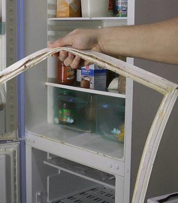 Как самостоятельно поменять уплотнительную резинку на холодильнике