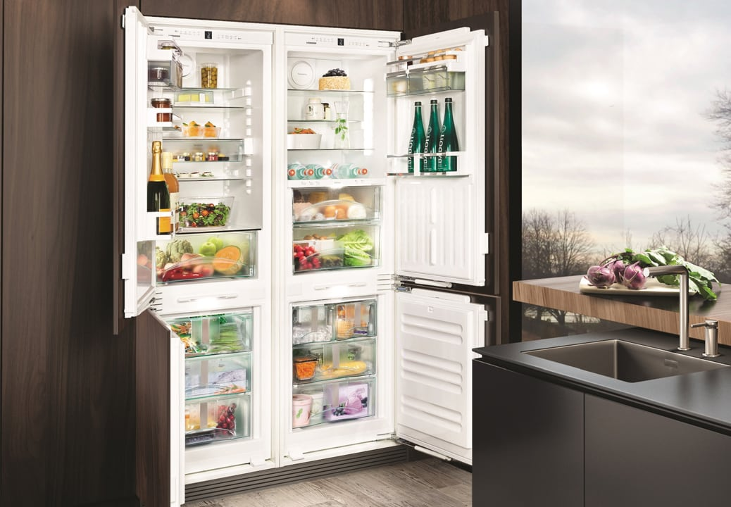 Встроенный Side By Side холодильник