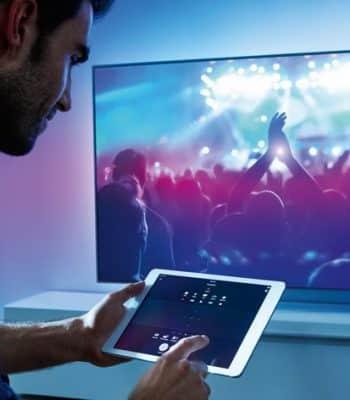 Подключение iPad к телевизору для трансляции изображений и видео
