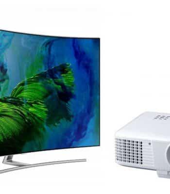 Что выбрать для домашнего кинотеатра: проектор или телевизор